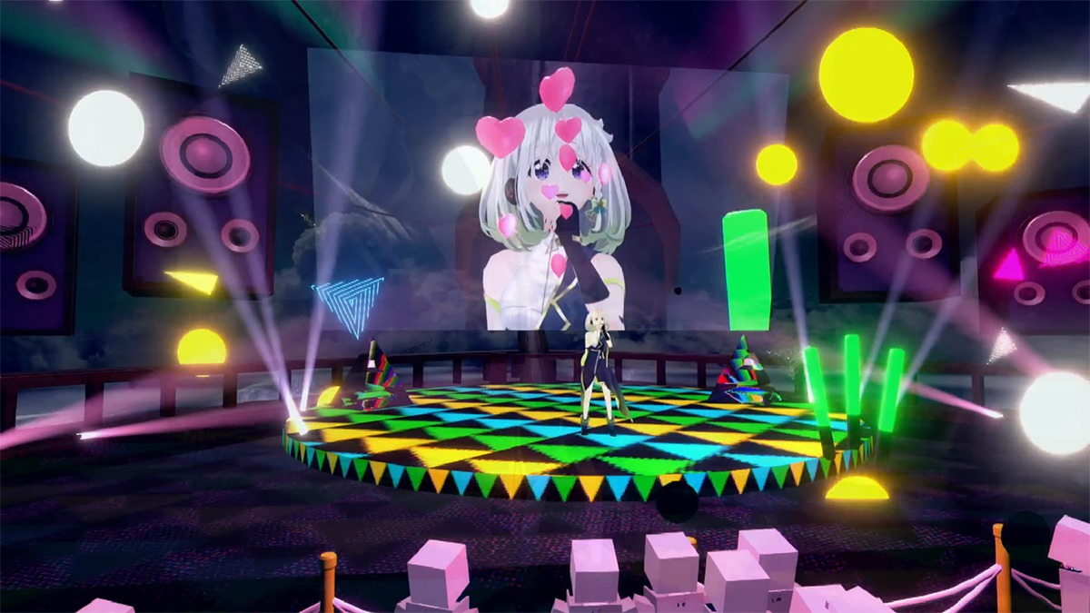 YuNi 3rd VR Live「eternal journey」より (C)2019 YuNi