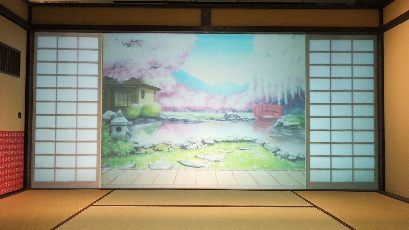 前回の映画村『刀剣乱舞-ONLINE-』の世界を再現