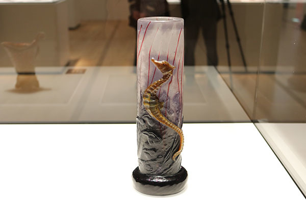 《海馬文花器》(1903年頃、ヤマザキマザック美術館蔵)