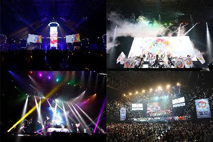『XFLAG PARK2017』開催『モンスターストライク』を中心としたLIVEエンターテインメントショーに4万人が熱狂