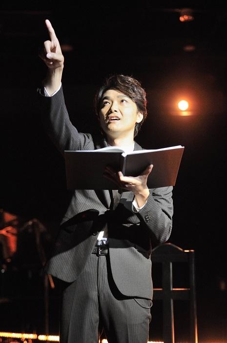 井上芳雄 (C)衛星劇場/撮影:鷹野政起