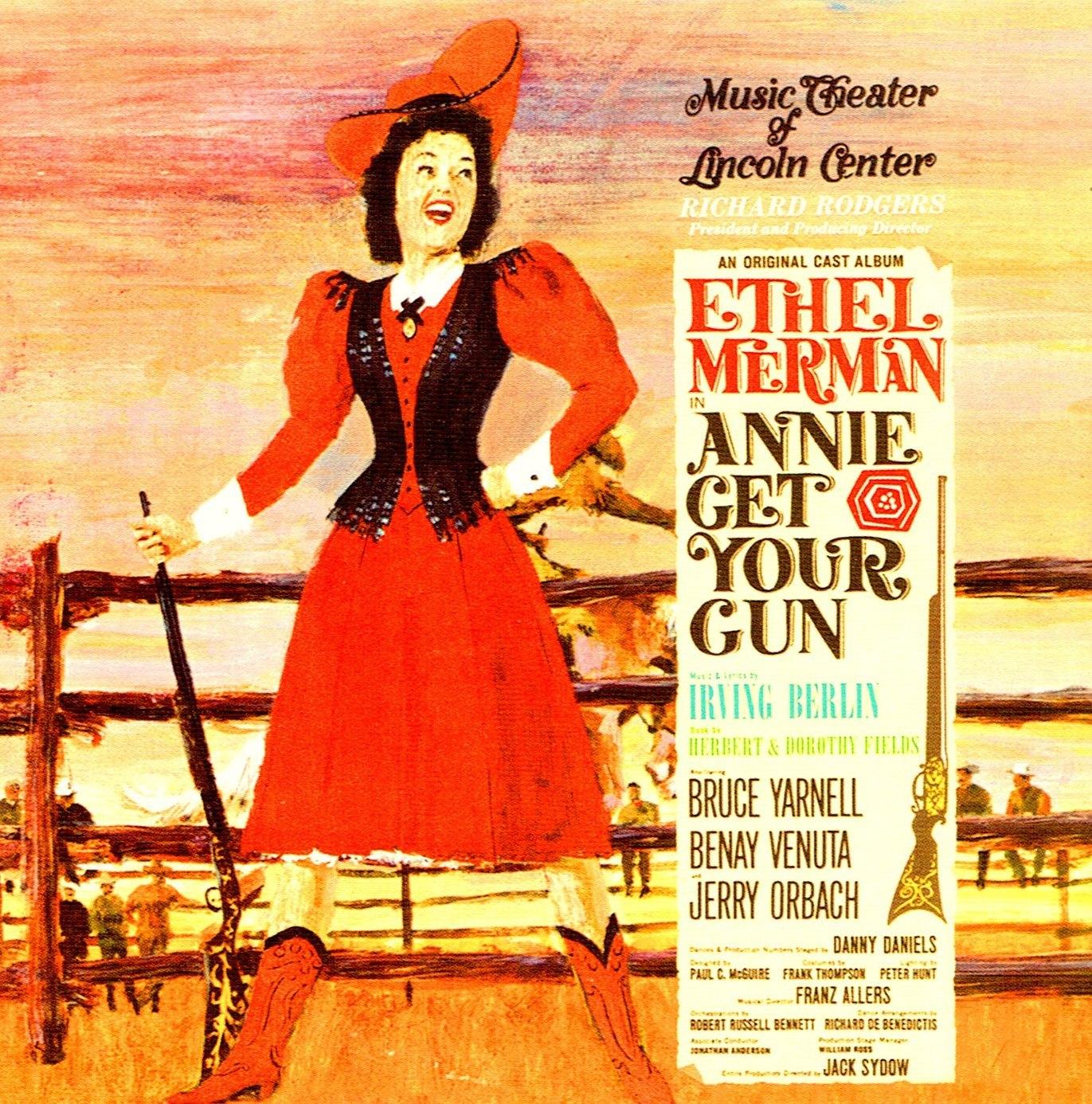 1966年再演版CD。バーリンはこの公演のために、新曲〈昔ながらの結婚式〉を書き下ろした(輸入盤)。