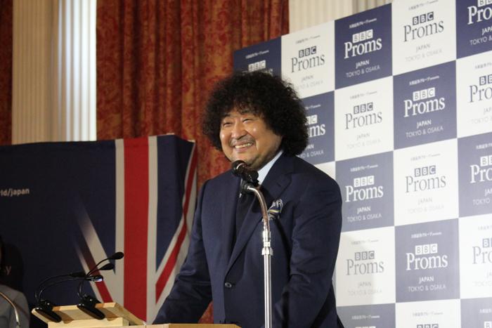 葉加瀬 太郎 BBC Proms Japan 2019 PRアンバサダー