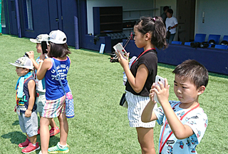 小学生以下の50人が参加できる「打撃練習見学ツアー」