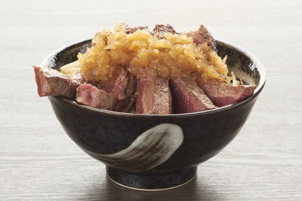 【1ポンドのステーキハンバーグ タケル】タケルステーキ丼