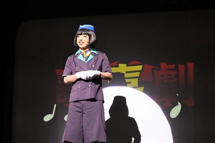 前説の小松利昌さんです