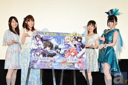 4名のキャストが登場した『空戦魔導士候補生の教官』先行上映会レポ