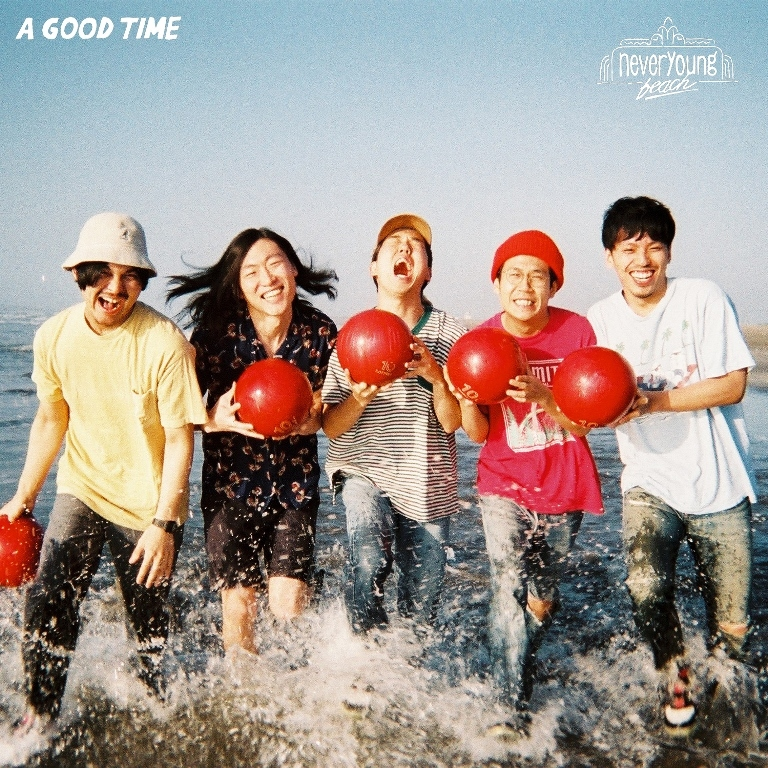 3rdアルバム『A GOOD TIME』