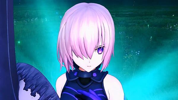『Fate/Grand Order Arcade』マシュ・キリエライトの宝具演出 (C)TYPE-MOON / FGO ARCADE PROJECT