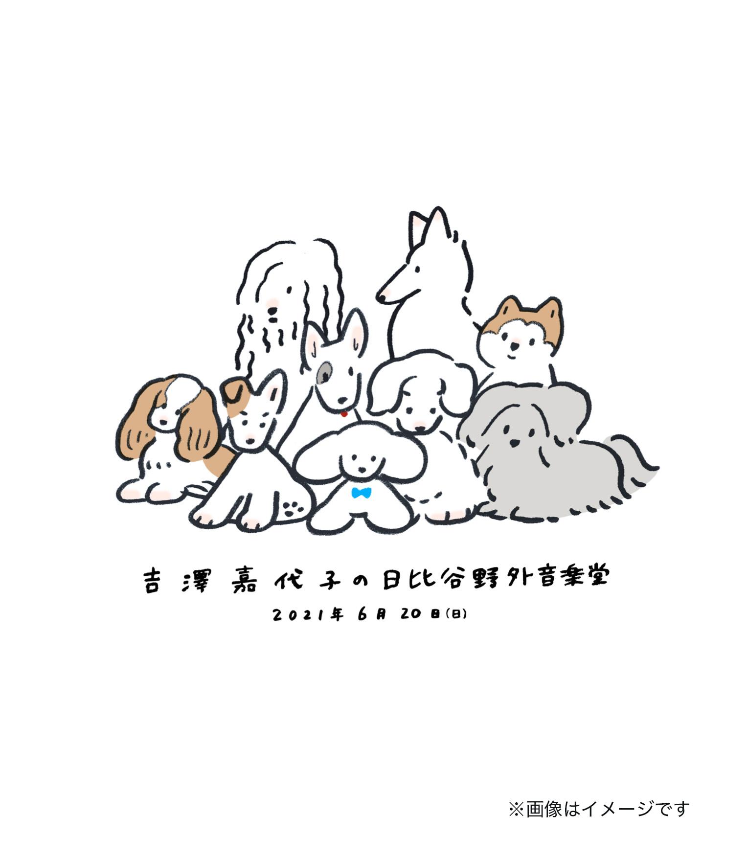 吉澤嘉代子 Blu-rayキービジュアル