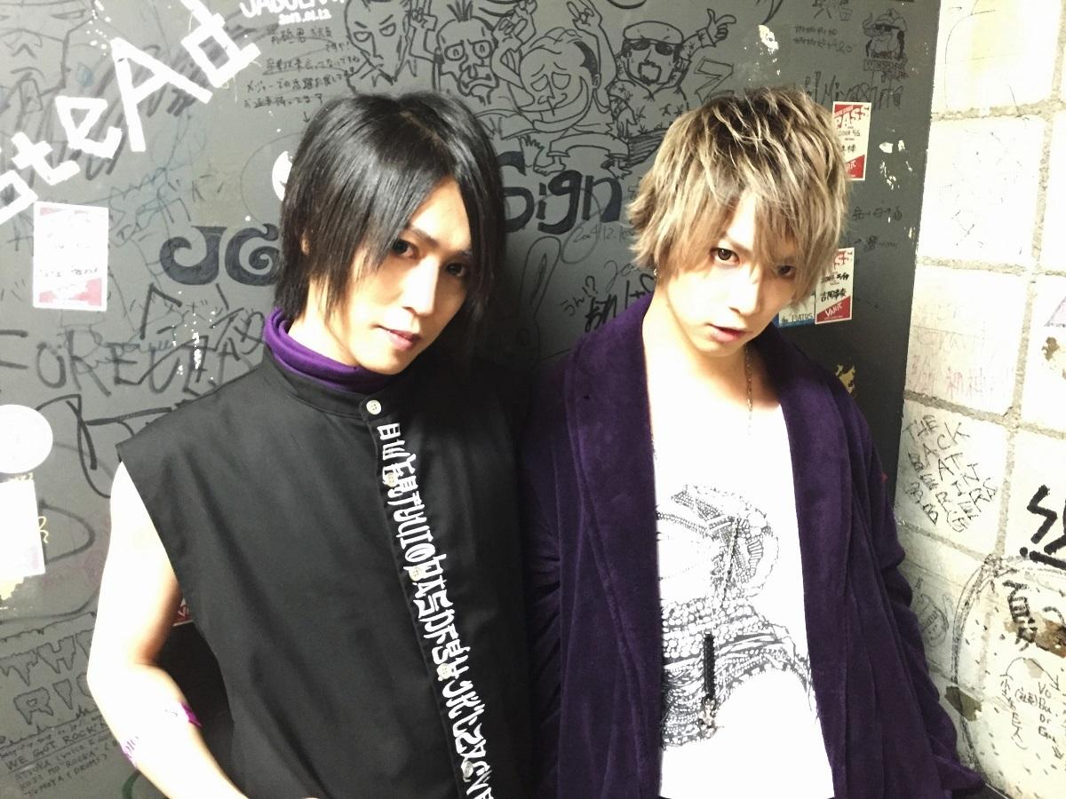 masato & 武瑠『SuG TOUR 2016 SLVS』4月9日 神戸VARIT.楽屋にて