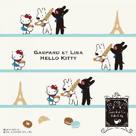 人気絵本『リサとガスパール』と「ハローキティ」のコラボショップが池袋にオープン、5/29まで