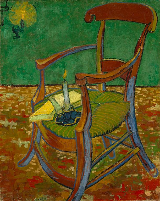 《ゴーギャンの椅子》フィンセント・ファン・ゴッホ/ファン・ゴッホ美術館(フィンセント・ファン・ゴッホ財団) ©Van Gogh Museum, Amsterdam  (Vincent van Gogh Foundation)