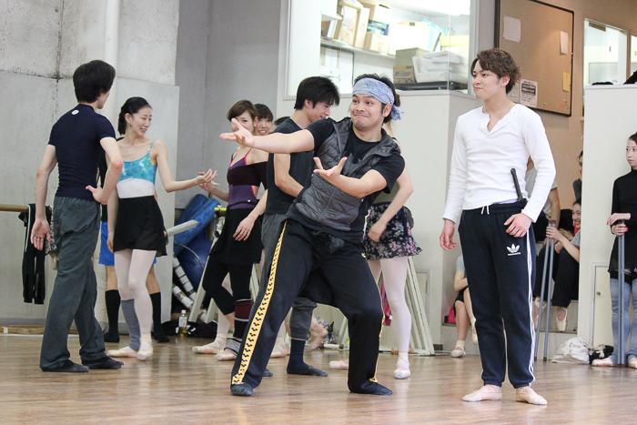 人気キャラクター、トルネコ(鴻巣明史さん)も登場 撮影:西原朋未