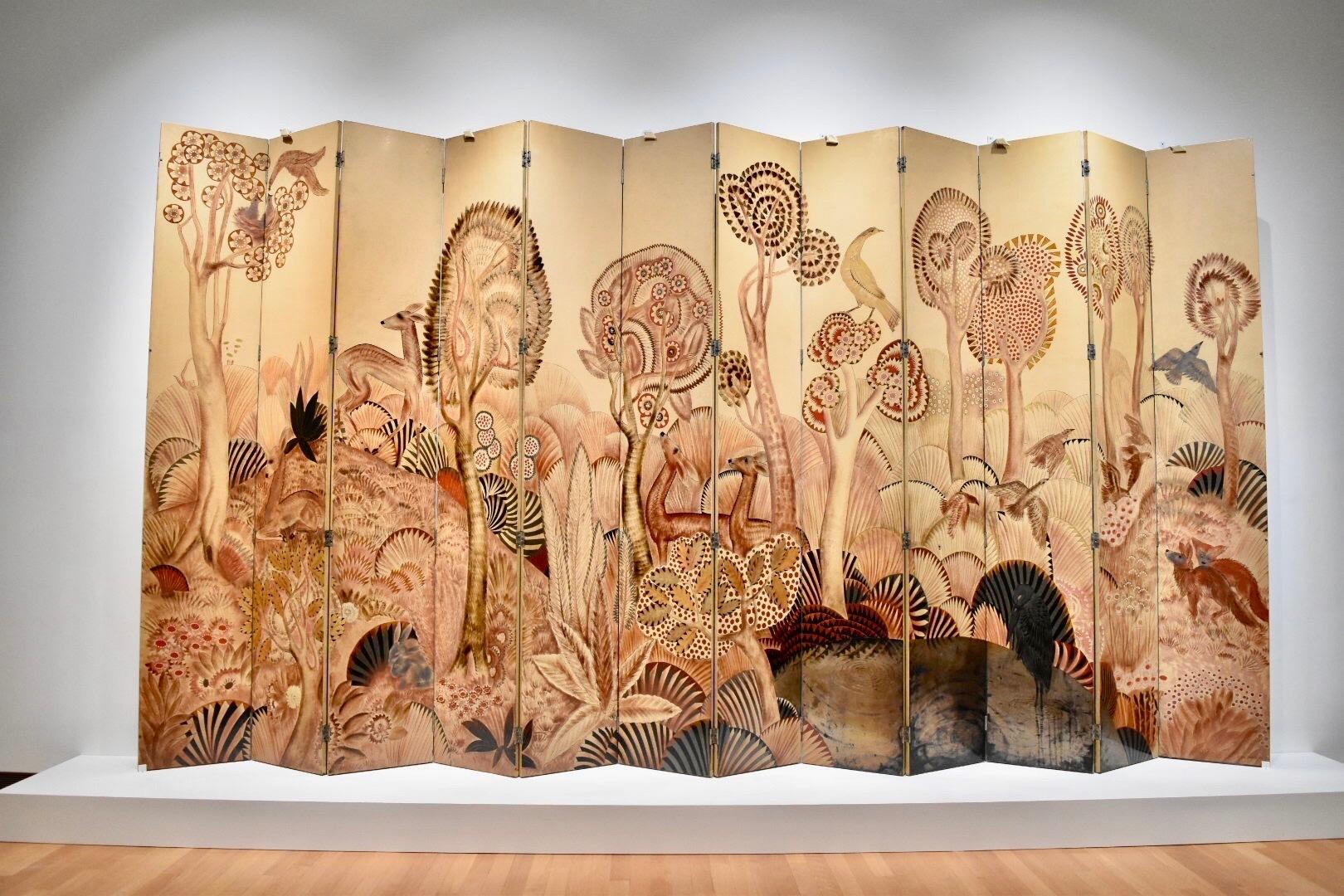 《森》 ジャン・デュナン 20世紀前半 モビリエ・ナショナル(パリ)蔵