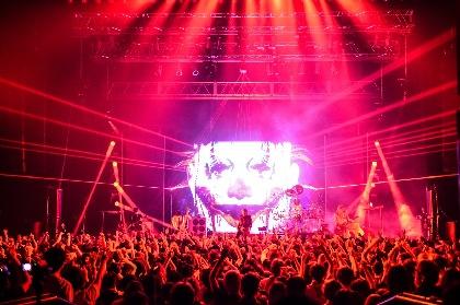 DIR EN GREY 北米&欧州ツアー開催を発表、NY公演は即日完売