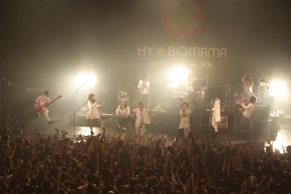 HY+BIGMAMA 撮影=板橋淳一