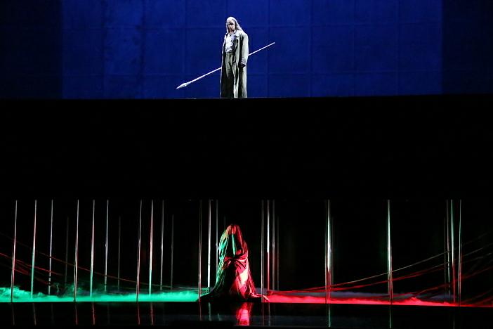 新国立劇場オペラ『ジークフリート』ゲネプロより さすらい人、エルダ