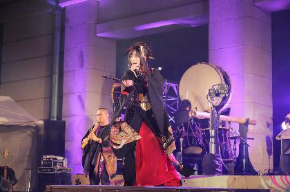 """和楽器バンドの""""伝統コラボレーション""""に6,500人が熱狂 初のフリーライブを東京国立博物館で開催"""