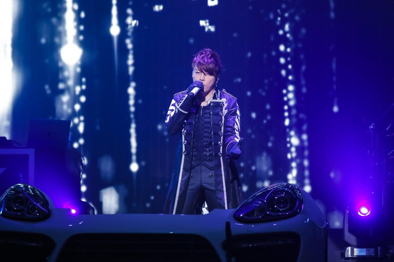 西川貴教 『Takanori Nishikawa LIVE TOUR 001[SINGularity]』Zepp Tokyoファイナル Photo by CHIE KATO (CAPS)