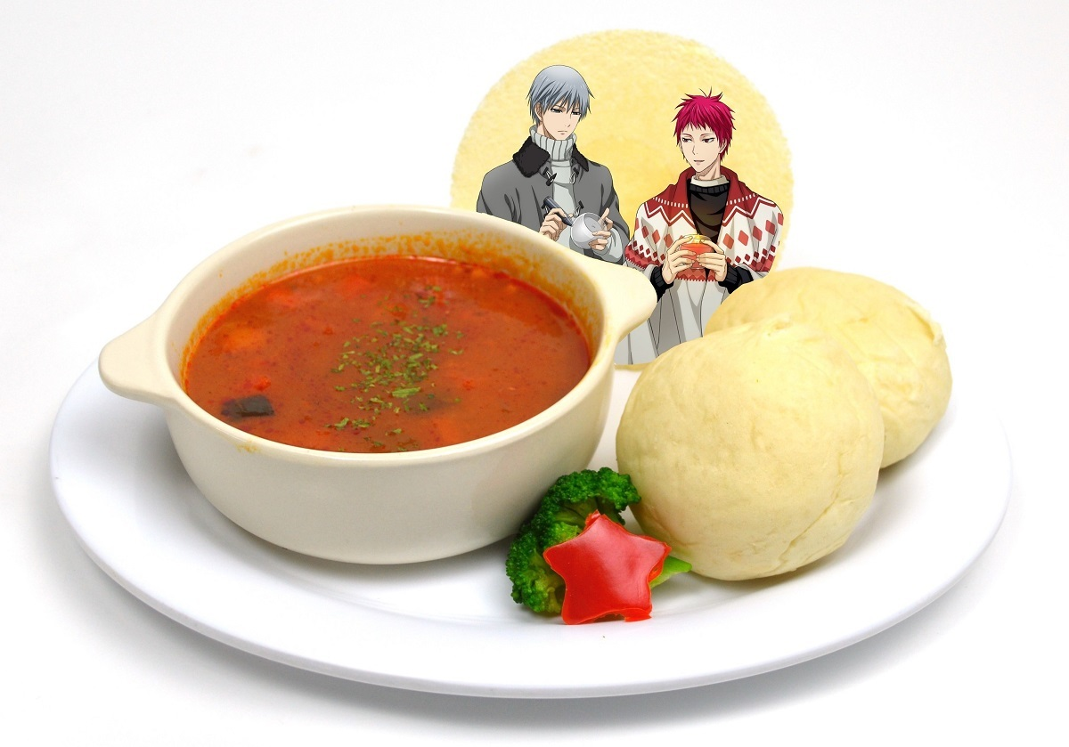 赤司と黛のクリスマススープセット