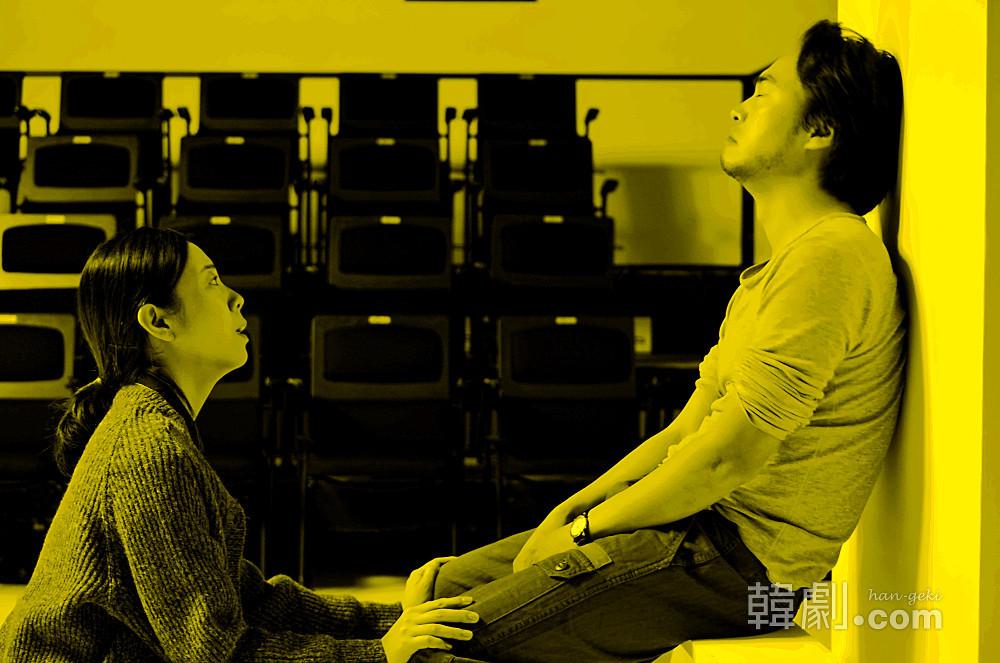 主人公のコベイ夫妻を演じたヤン・チョア(左)とソン・サンギュ