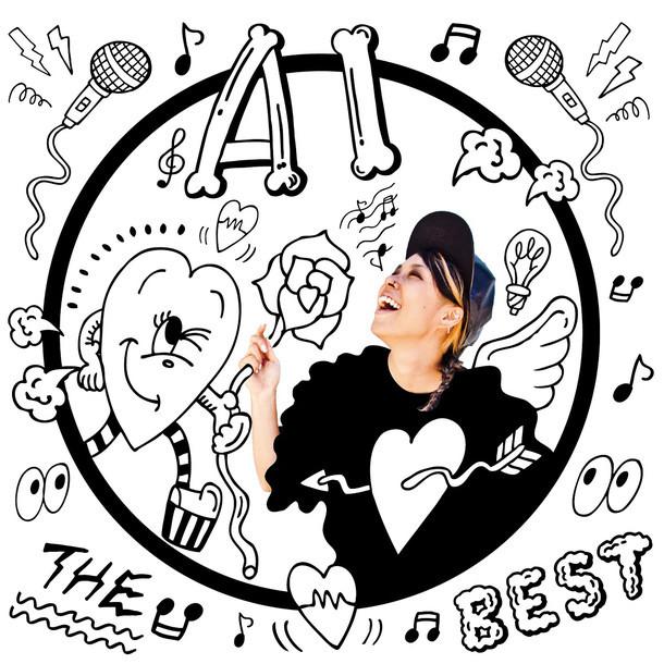 AI「THE BEST」ジャケット