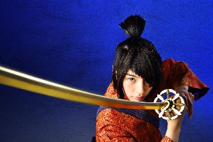 のん、SAMURAI NON(サムライ・ノン)姿でキメる!『KUBO/クボ 二本の弦の秘密』主人公に扮した映画秘宝WEB限定カットを公開