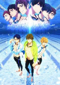 『劇場版 Free!-Road to the World-夢』予告映像とトークイベントBD&DVDジャケが解禁!