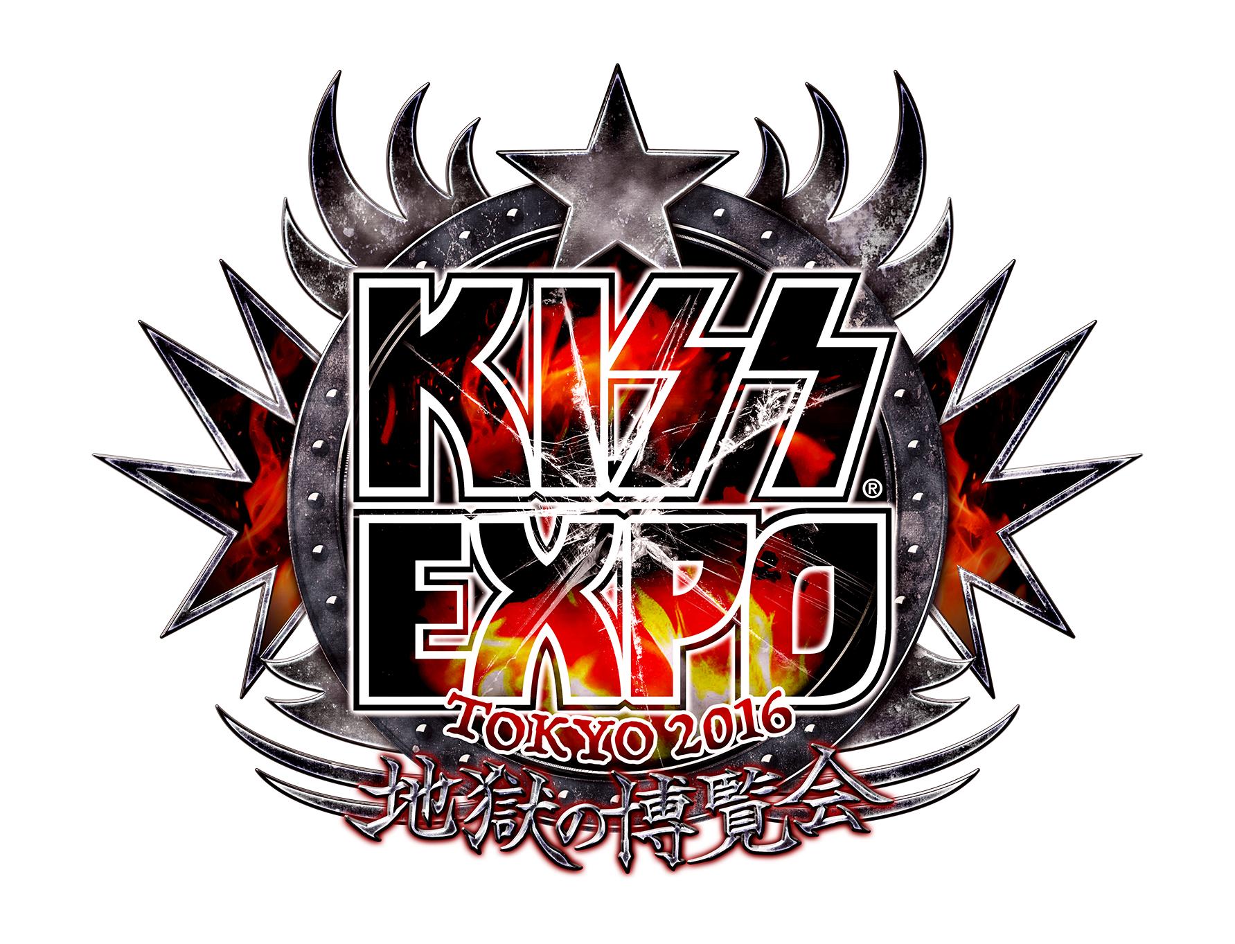 『KISS EXPO TOKYO 2016』ロゴ
