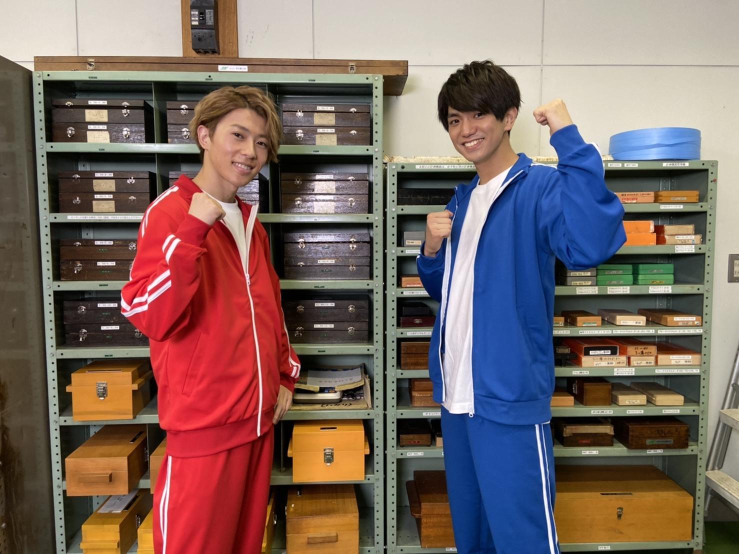 左から、末澤誠也、正門良規(関西ジャニーズJr./Aぇ! group)