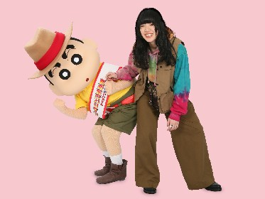 あいみょん『映画クレヨンしんちゃん』主題歌を担当、ひろしとみさえの家族愛を歌う