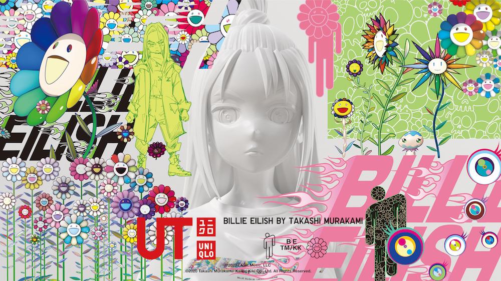 「ビリー・アイリッシュ×村上隆」  (C)2020 LASH Music, LLC (C)2020 Takashi Murakami/Kaikai Kiki Co., Ltd. All Rights Reserved.
