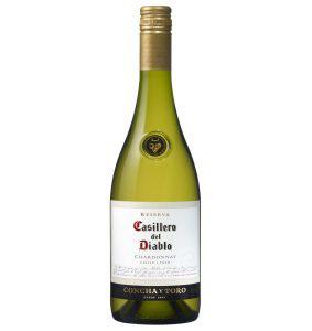 「カッシェロ・デル・ディアブロ シャルドネ ≪白≫辛口」口中に長く残るふくよかな辛口白ワイン。 後味は洋ナシ、そしてかすかに白桃とトースト香を感じる