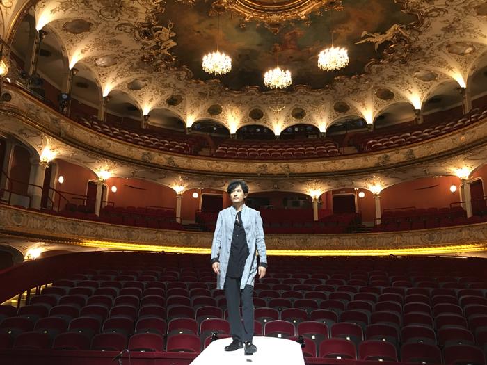 稲垣吾郎、ウィーン・フォルクス劇場にて
