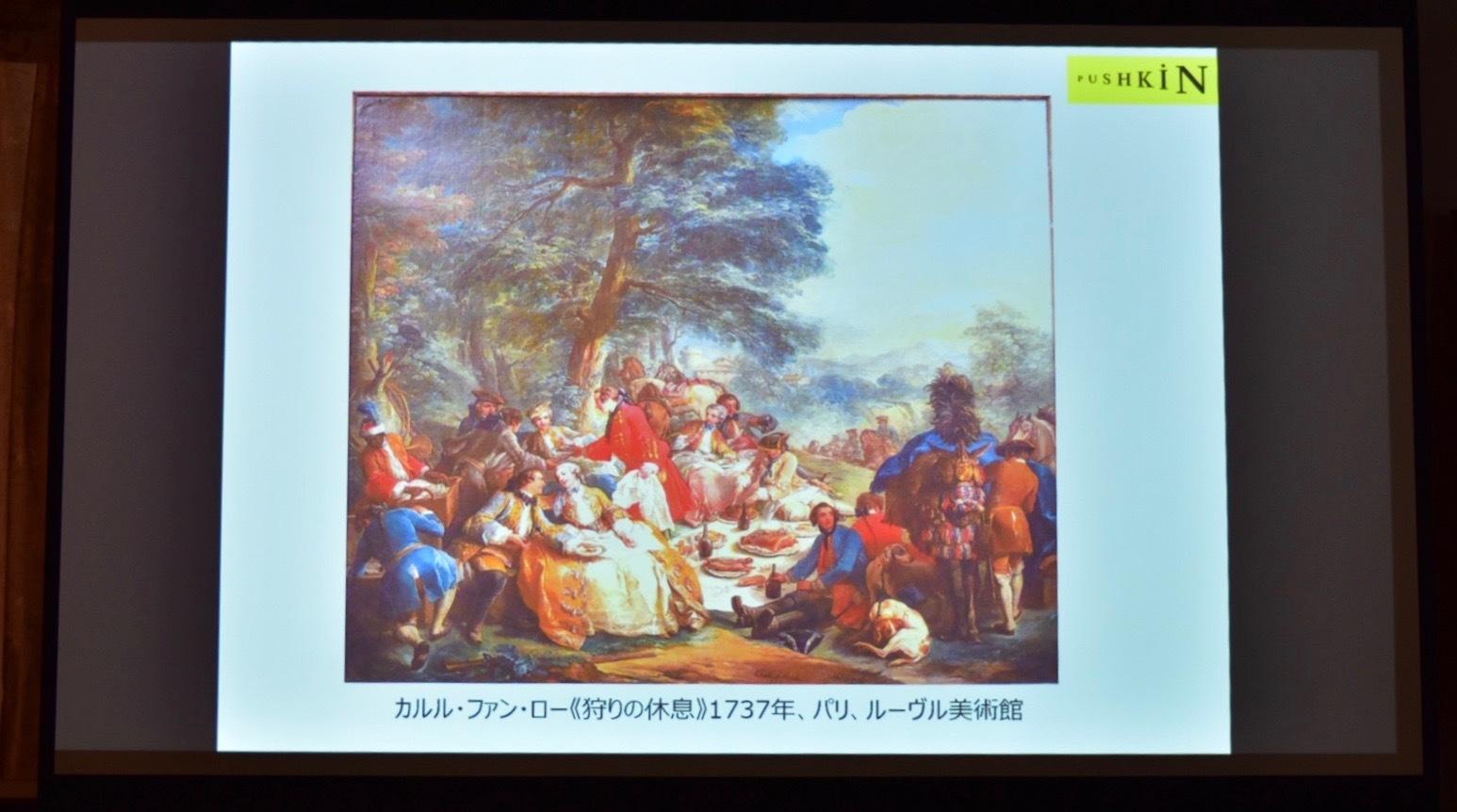 18世紀の狩猟画