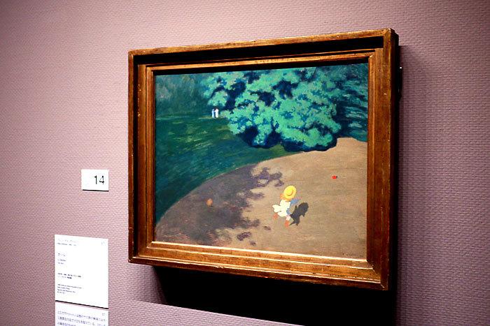フェリックス・ヴァロットン《ボール》1899年│オルセー美術館