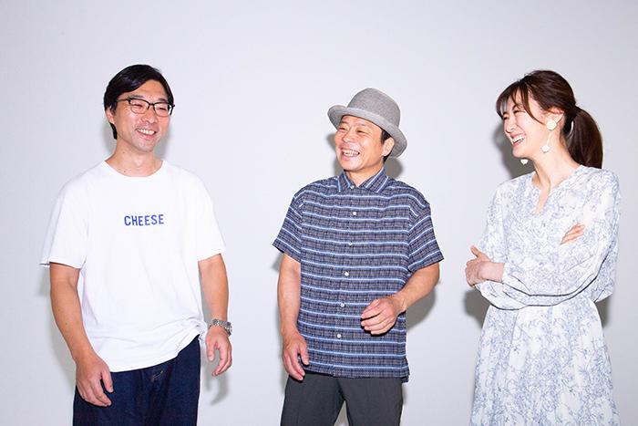 (左から)倉持裕、三宅弘城、ともさかりえ