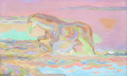 練馬区美術館で『没後50年 坂本繁二郎展』 盟友・青木繁の作品も併せて展示