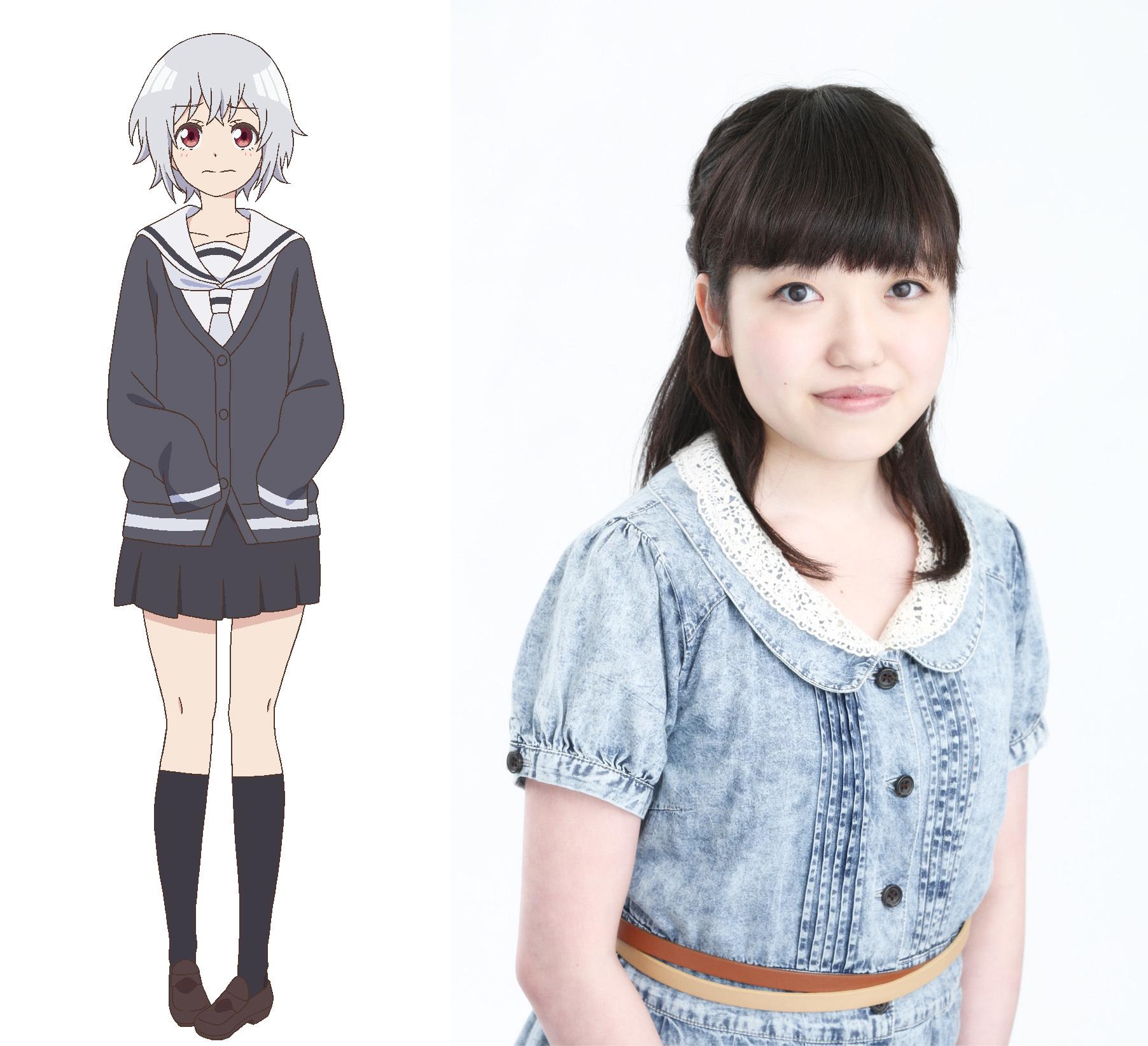 矢工部キノ CV:久野美咲 柄井高校の1年生。美術部所属。なりたい顔はスケッチブックに描いて表現する女の子。