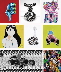 COOKIE(野性爆弾くっきー!)、秋赤音、米原康正ら新作展示のアートイベント開催