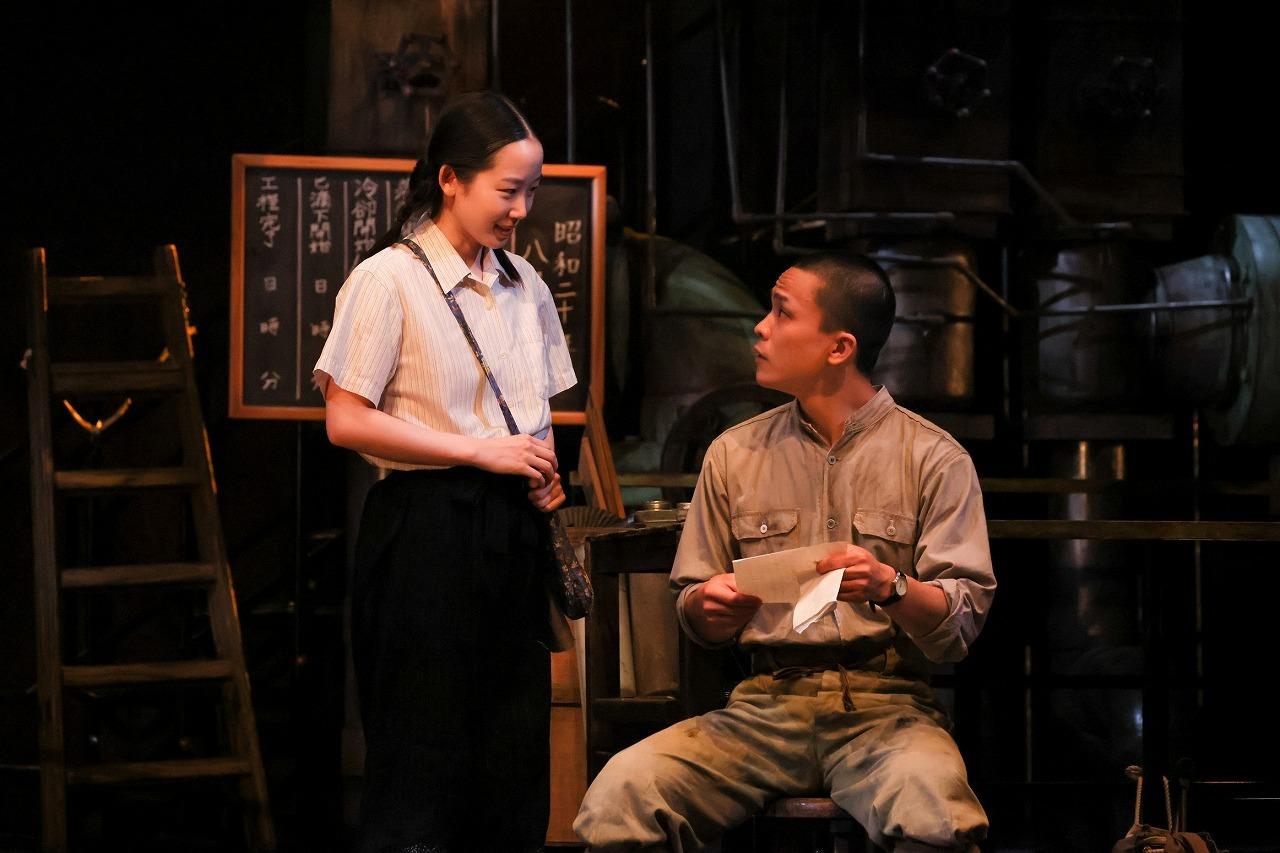 (左から) 天野はな、久保田響介  撮影:宮川舞子