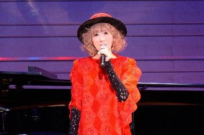 """涼風真世 デビュー35周年を祝したアルバム『Fairy』コンサートで""""現在・過去・未来""""を表現"""