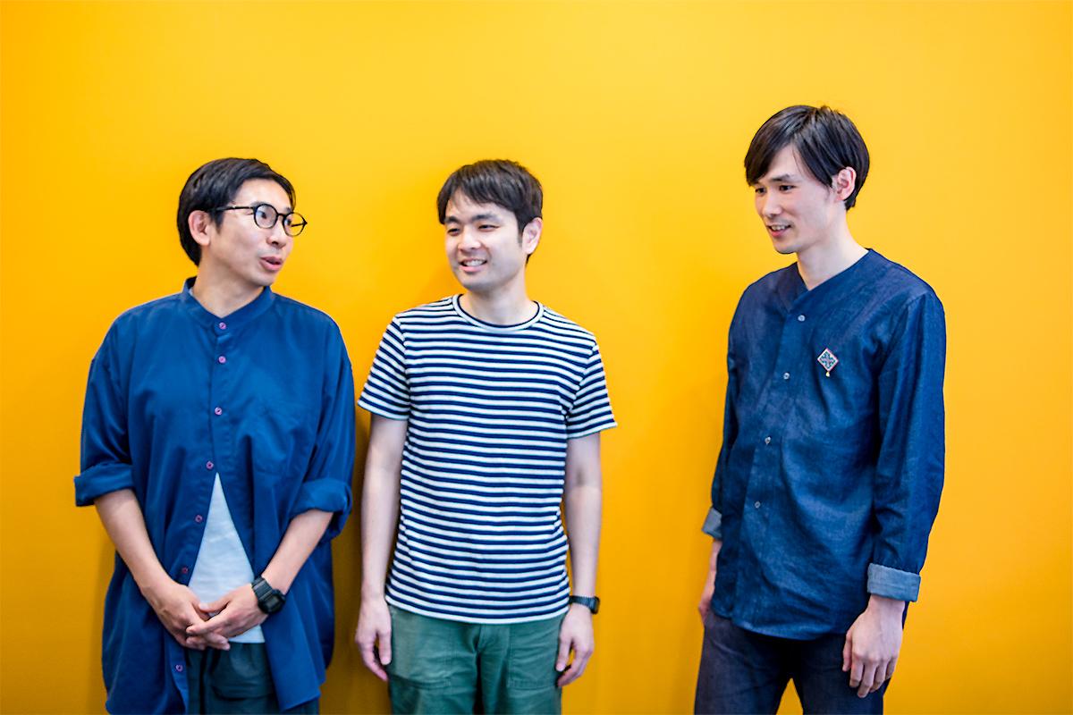 左から、神谷圭介、小出圭祐、吉田正幸