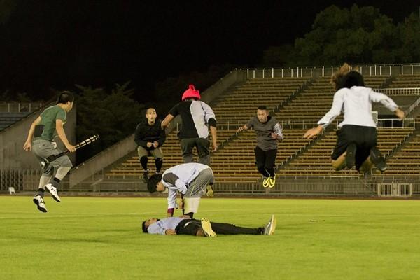 contact Gonzo『xapaxnannan:私たちの未来のスポーツ』(2014年) photo: Yoshikazu Inoue