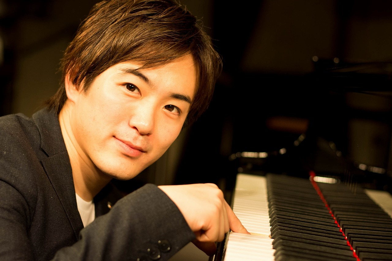 米津真浩(ピアノ) (撮影=原地達浩)