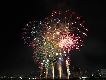カラフルな光が大阪の空を舞った『第28回なにわ淀川花火大会』レポート