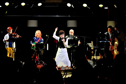 高泉淳子の「人間への愛」に満ちた舞台の新境地『俺× 僕のフレンチ ~ア・ラ・カルト公認レストラン~』