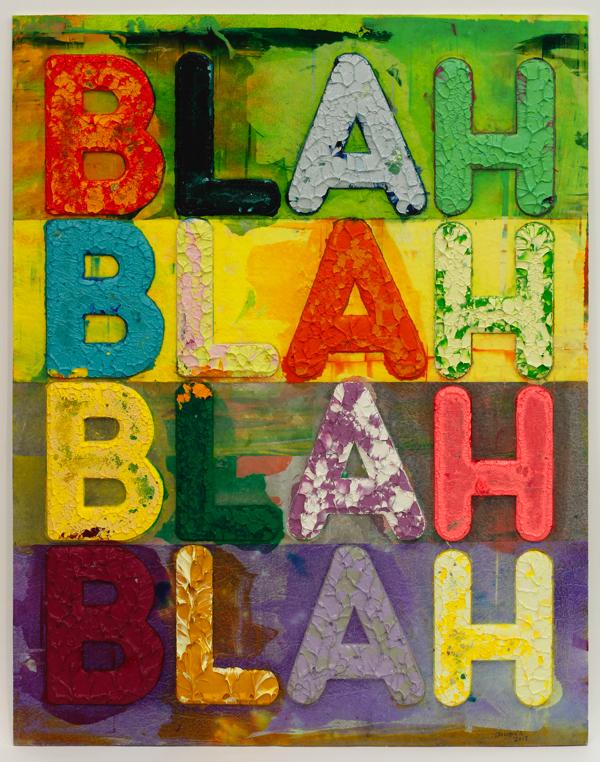 メル・ボックナー 《ブラー、ブラー、ブラー、》