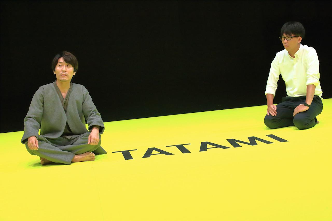 『TATAMI』(KUNIO、KAAT神奈川芸術劇場) 撮影/清水俊洋